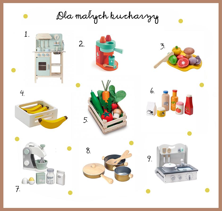 prezenty dla dzieci lubiących gotować