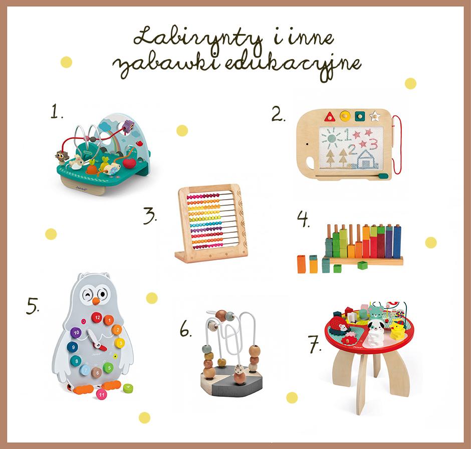 zabawki edukacyjne dla roczniaka