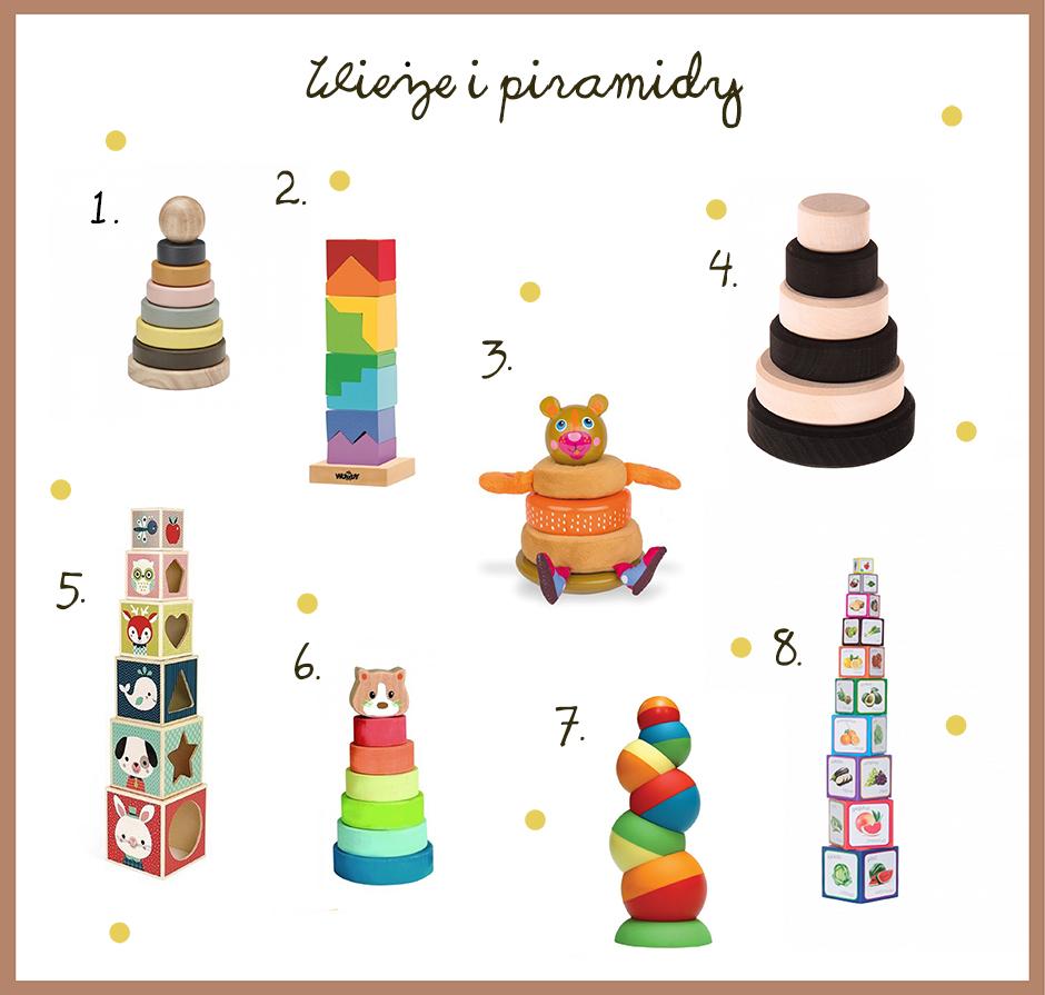 prezent dla rocznego dziecka wieże