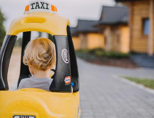 podróż autem z dzieckiem
