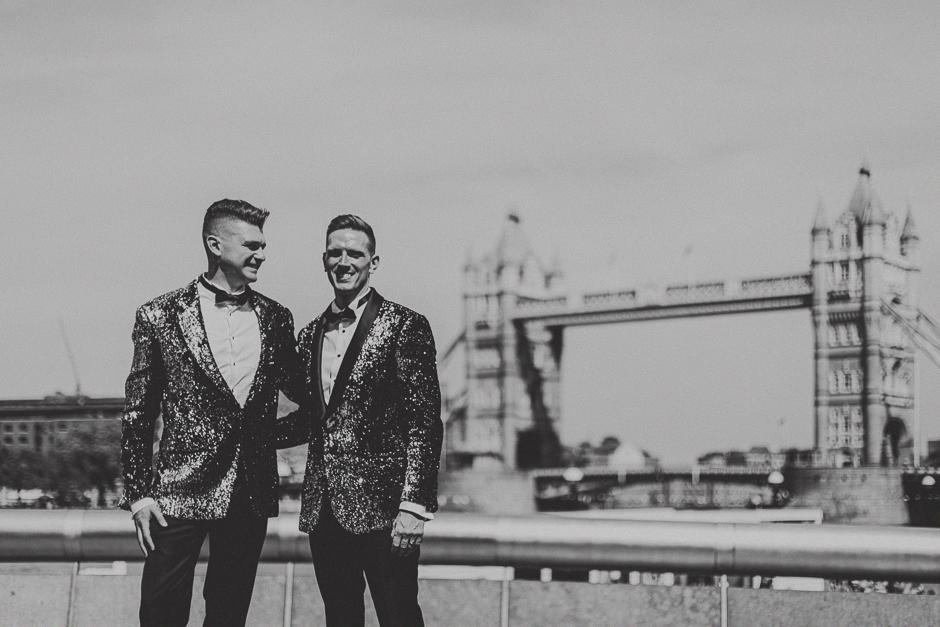 Ślub w Londynie - Peter & Nick