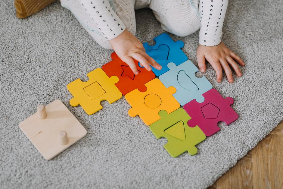 puzzle goli dla dwulatka #zostańwdomu