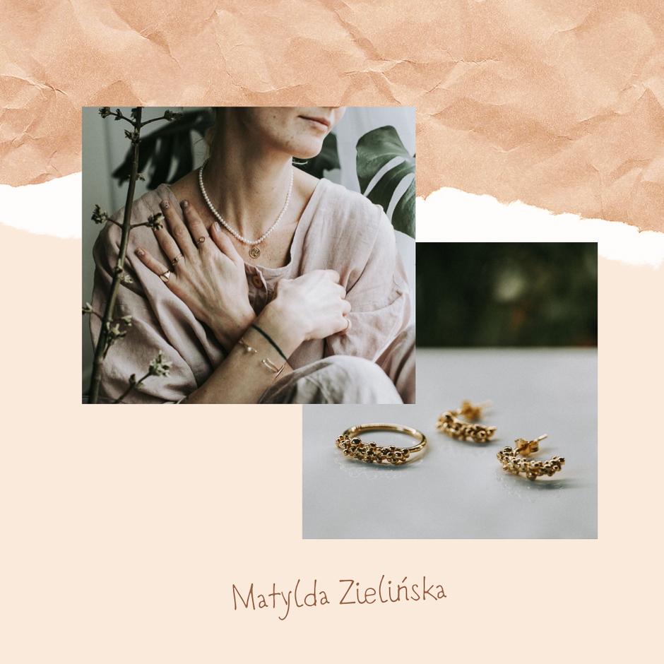 #wspierampolskiemarki Matylda Zielińska biżuteria