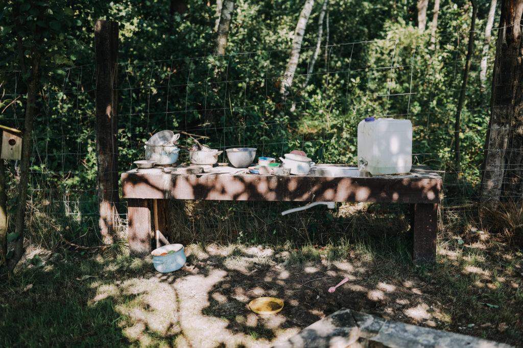 Las Zielone domek dla rodzin na Roztoczu